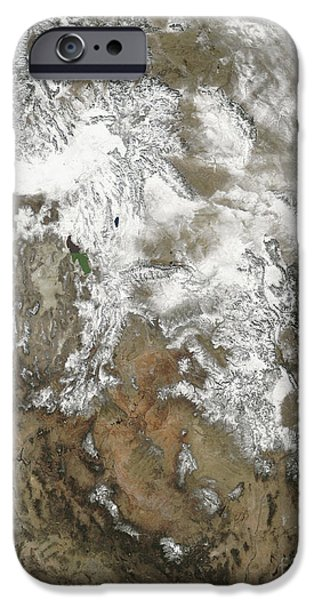 The High Peaks Of The Rocky Mountains iPhone Case by Stocktrek Images