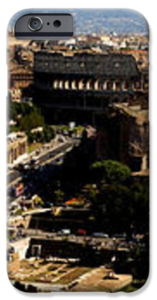 The Historic Centre of Rome iPhone Case by Fabrizio Troiani