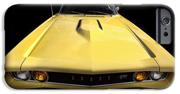 Super Bee iPhone Cases - The Hood Goes On Forever iPhone Case by Gordon Dean II