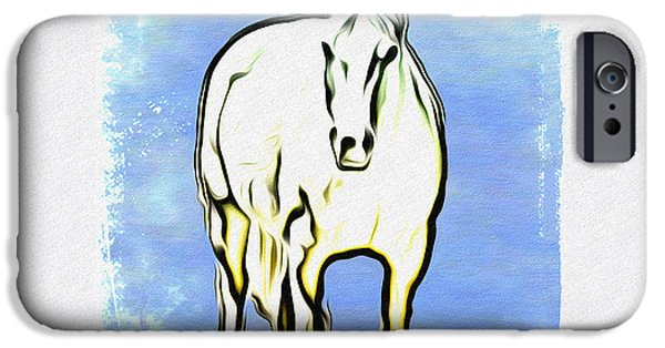 The Horse iPhone Cases - The Horse iPhone Case by Bill Cannon