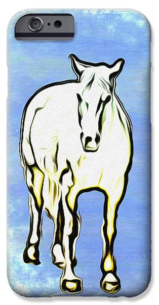 The Horse iPhone Case by Bill Cannon
