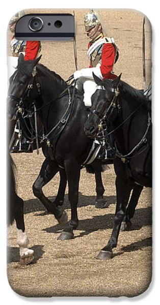 The Household Cavalry Performs iPhone Case by Andrew Chittock