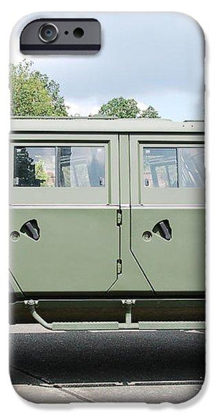 The Iveco Light Mulirole Vehicle iPhone Case by Luc De Jaeger
