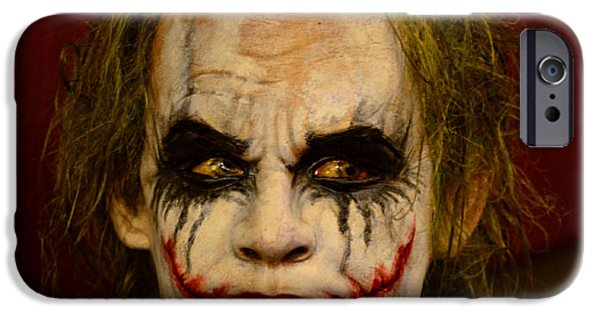 Ledger; Book iPhone Cases - THE JOKER - Why so serious iPhone Case by Paul Ward