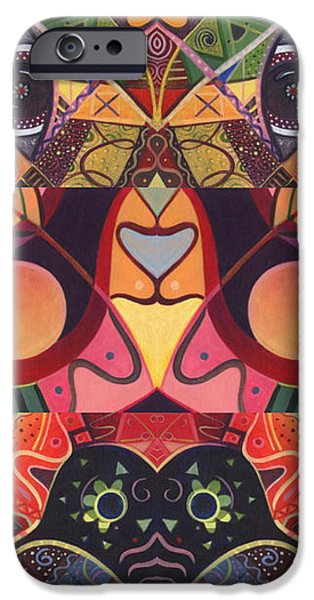 The Joy of Design Series Guardians iPhone Case by Helena Tiainen