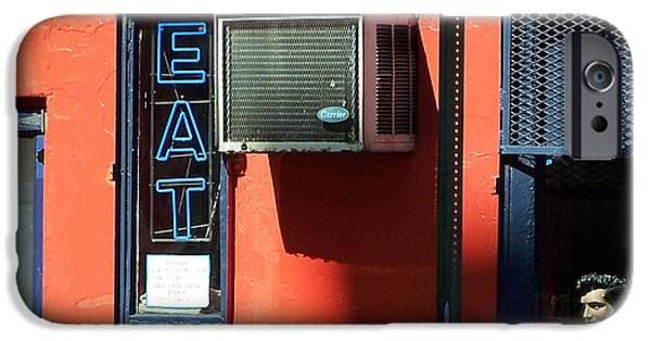 East Village Photographs iPhone Cases - The King Lives iPhone Case by Steven Huszar