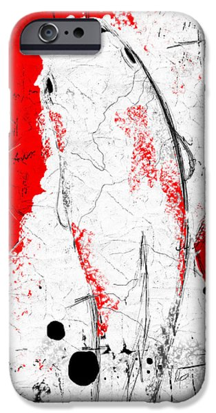 Buy Pastels iPhone Cases - The Koi iPhone Case by Roly Orihuela