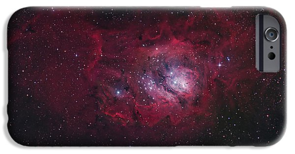 Constellations iPhone Cases - The Lagoon Nebula iPhone Case by Robert Gendler