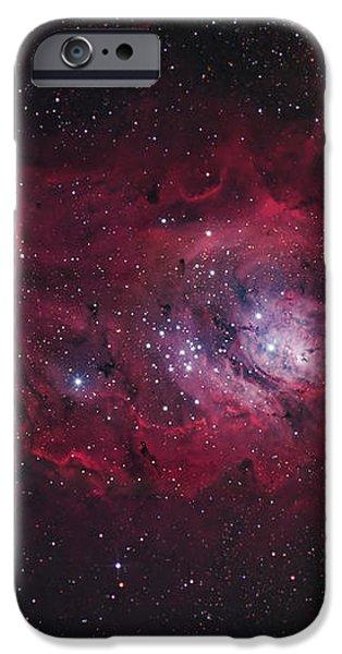 The Lagoon Nebula iPhone Case by Robert Gendler