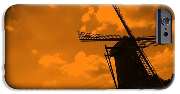 Nederland iPhone Cases - The Land of Orange iPhone Case by Carol Groenen