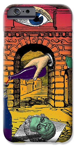 The Last Days of Herculaneum iPhone Case by Eric Edelman