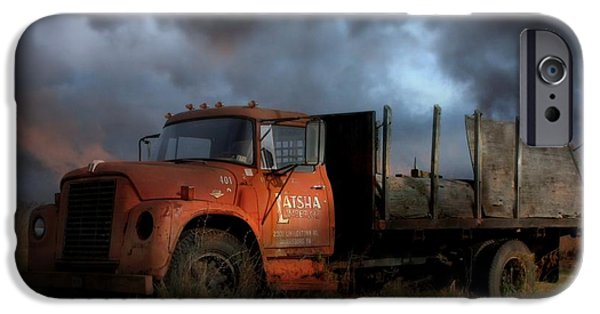 Delivery Truck iPhone Cases - The Last Delivery iPhone Case by Lori Deiter