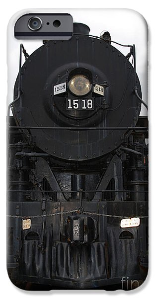 The Last Iron Horse Loc 1518 in Paducah KY iPhone Case by Susanne Van Hulst