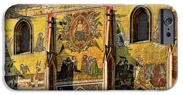 Divine Mercy iPhone Cases - The Last Judgment - St Vitus Cathedral Prague iPhone Case by Christine Till