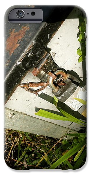 the lock box iPhone Case by Trish Hale