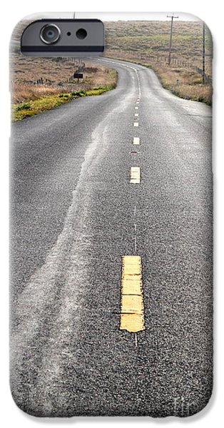 The Long Road Home . 7D9898 iPhone Case by Wingsdomain Art and Photography
