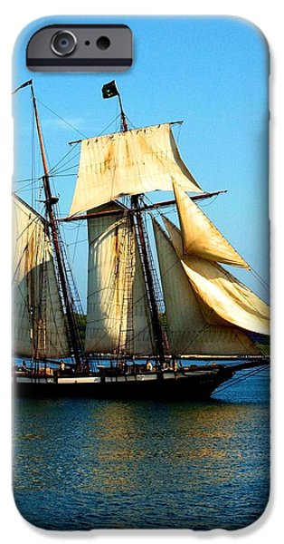 Pirate Ship iPhone Cases - The Lynx iPhone Case by Lola Grieco
