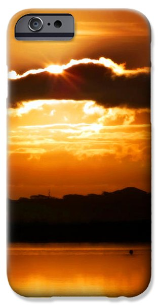 The Magic of Morning iPhone Case by KAREN WILES