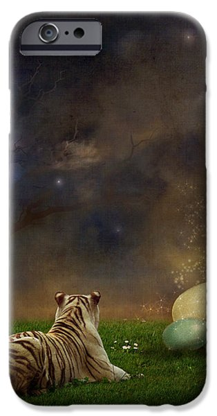 The magical of life iPhone Case by Martine Roch