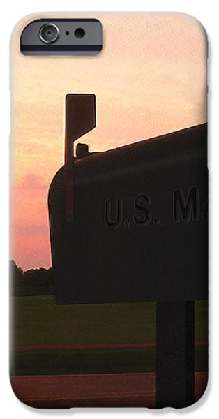 The Mail Of Old iPhone Case by Mike McGlothlen