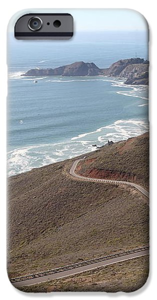 The Marin Headlands - California Shoreline - 5D19593 iPhone Case by Wingsdomain Art and Photography