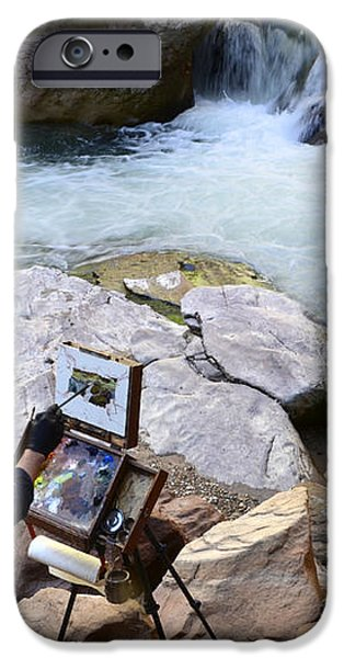 The Narrows Quality Time iPhone Case by Bob Christopher