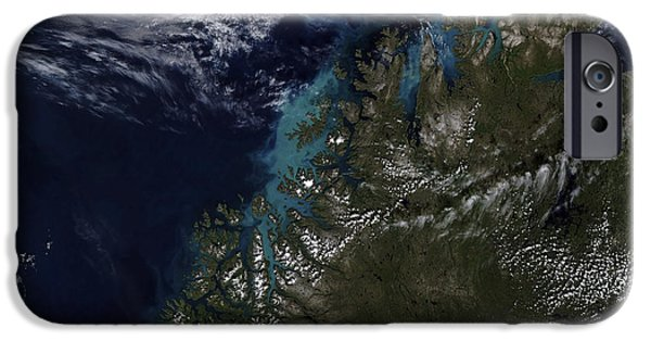 Phytoplankton iPhone Cases - The Norwegian Sea iPhone Case by Stocktrek Images