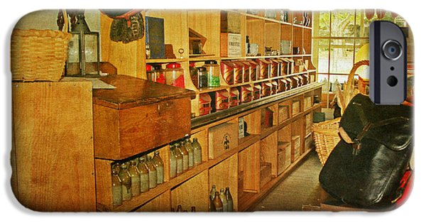 Country Store iPhone Cases - The Old Country Store iPhone Case by Kim Hojnacki