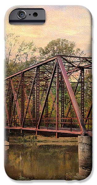 The Old Iron Bridge iPhone Case by Jai Johnson