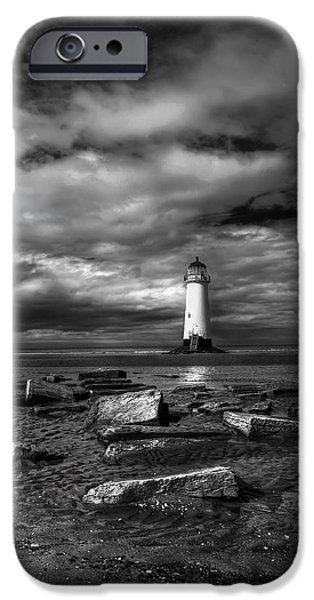 The Old Lighthouse  iPhone Case by Adrian Evans