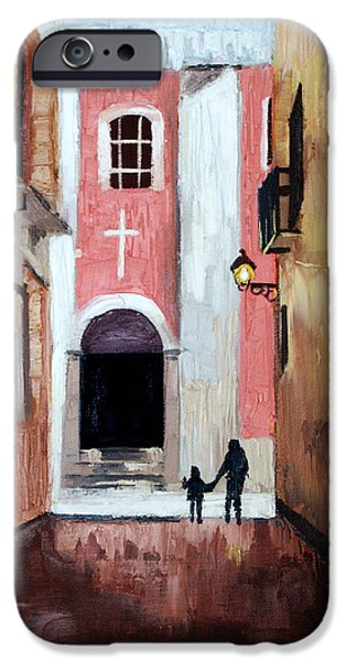 The Open Door iPhone Case by Anthony Falbo