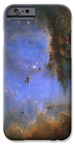 The Pacman Nebula iPhone Case by Ken Crawford