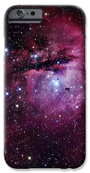 The Pacman Nebula iPhone Case by Robert Gendler