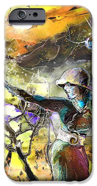 The Parable of The Sower iPhone Case by Miki De Goodaboom