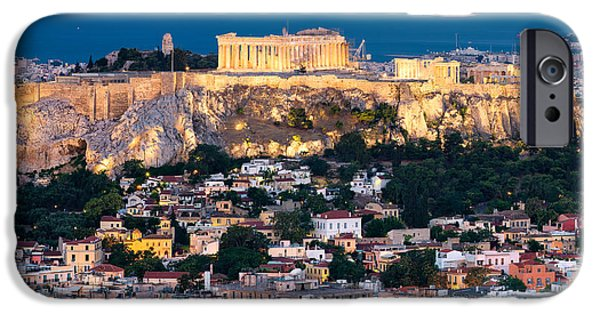 Mesta iPhone Cases - The Parthenon iPhone Case by Emmanuel Panagiotakis