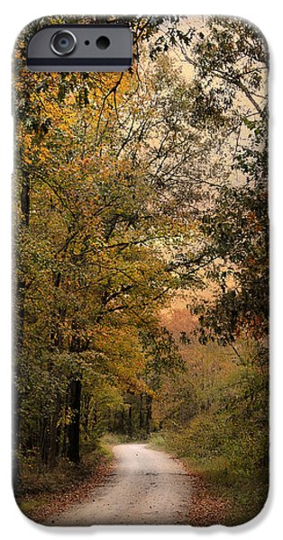 The Path Less Traveled 2 iPhone Case by Jai Johnson