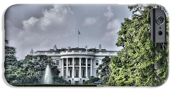 White House iPhone Cases - The Peoples House iPhone Case by Arthur Herold Jr