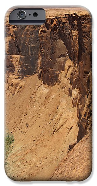 Red Rock iPhone Cases - The Photographer 2 iPhone Case by Mike McGlothlen