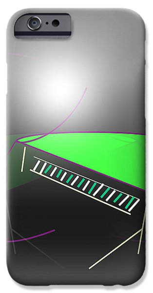Abstract Expressionist iPhone Cases - The Piano iPhone Case by John Krakora