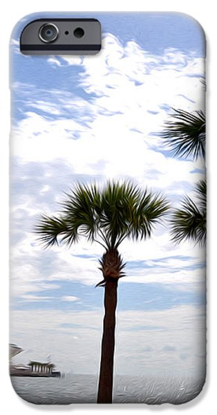 The Pier - St. Petersburg iPhone Case by Bill Cannon