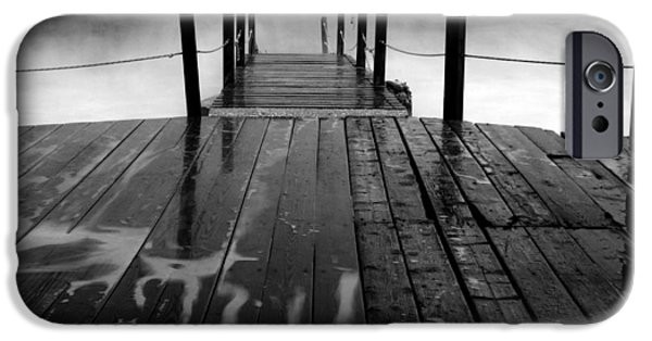 Concept Art iPhone Cases - The Pier...protaras iPhone Case by Stylianos Kleanthous