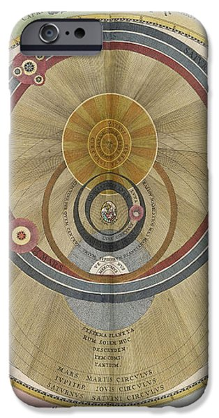 The Planisphere Of Brahe Harmonia iPhone Case by Science Source