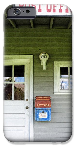 The Post Office iPhone Case by Paul Ward