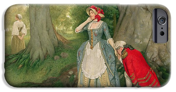 I Ask iPhone Cases - The Proposal iPhone Case by Sir James Dromgole Linton