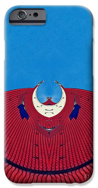 the red dress - Archifou 71 iPhone Case by Aimelle