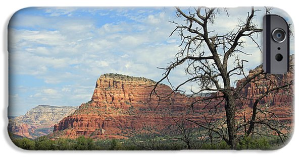 Sedona iPhone Cases - The Road to Sedona iPhone Case by Lauri Novak