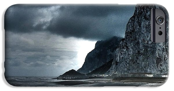 Spanien iPhone Cases - The Rock ... iPhone Case by Juergen Weiss