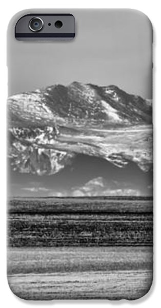 The Rockies iPhone Case by Heather Applegate