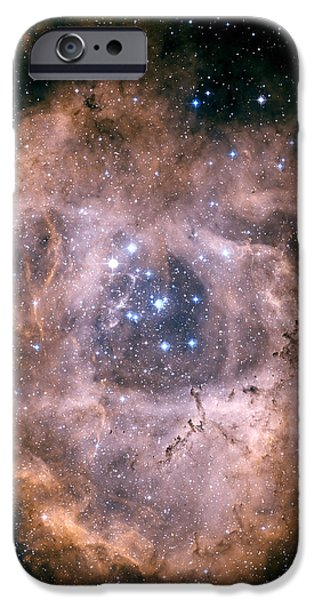 The Rosette Nebula iPhone Case by Charles Shahar