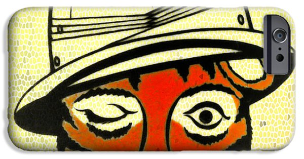 The Tiger iPhone Cases - The Safari Club iPhone Case by Bill Cannon